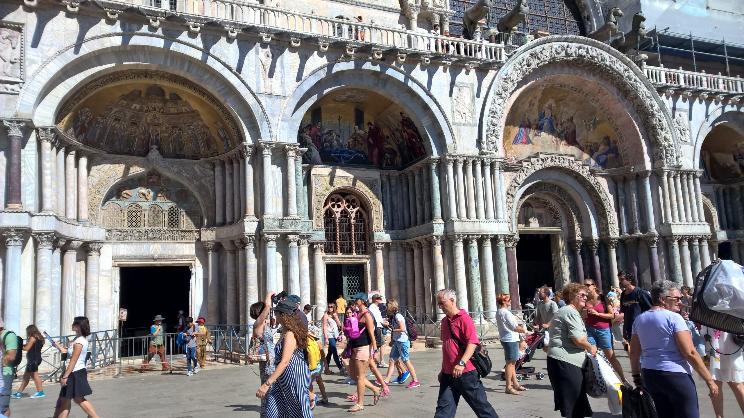 Lądowanie w Wenecji