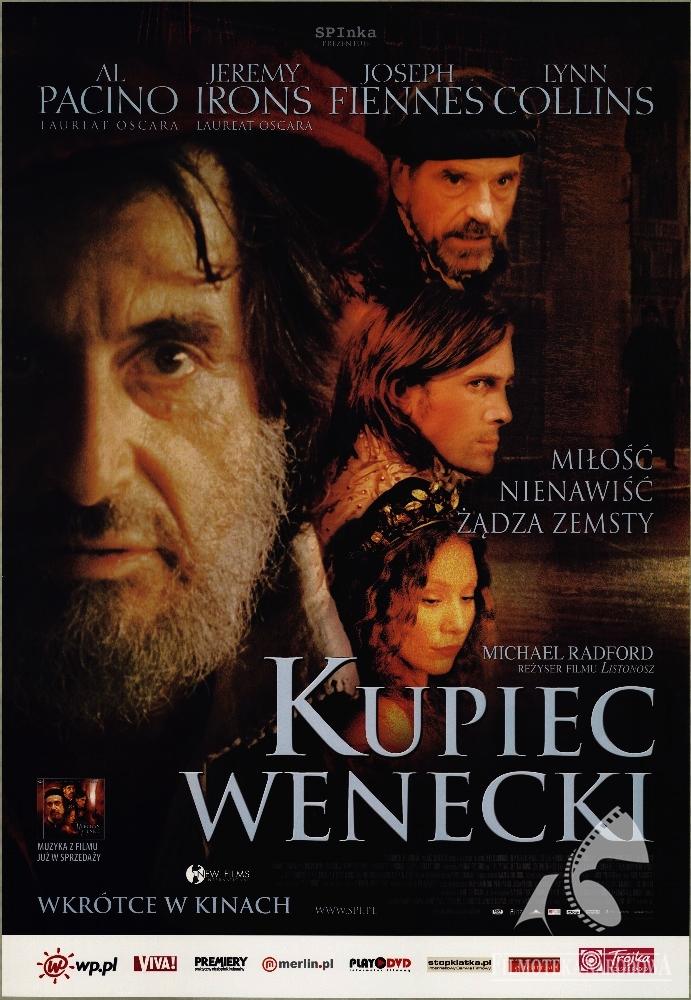 Kupiec Wenecki, reż. Michael Radford