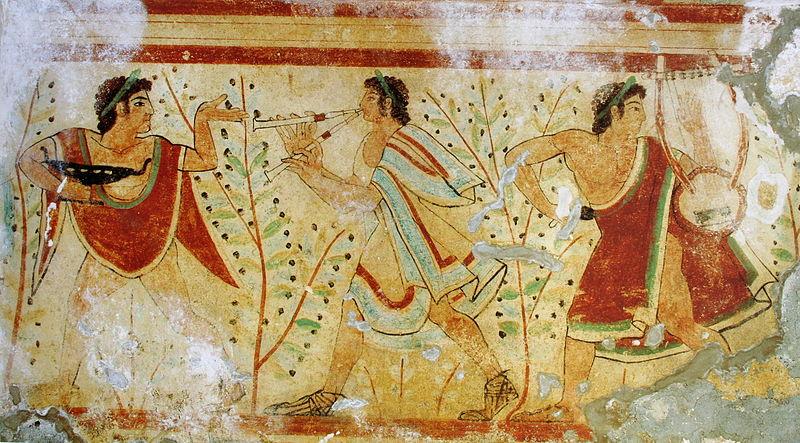 Chordofony w starożytnej muzyce greckiej rzymskiej i etruskiej