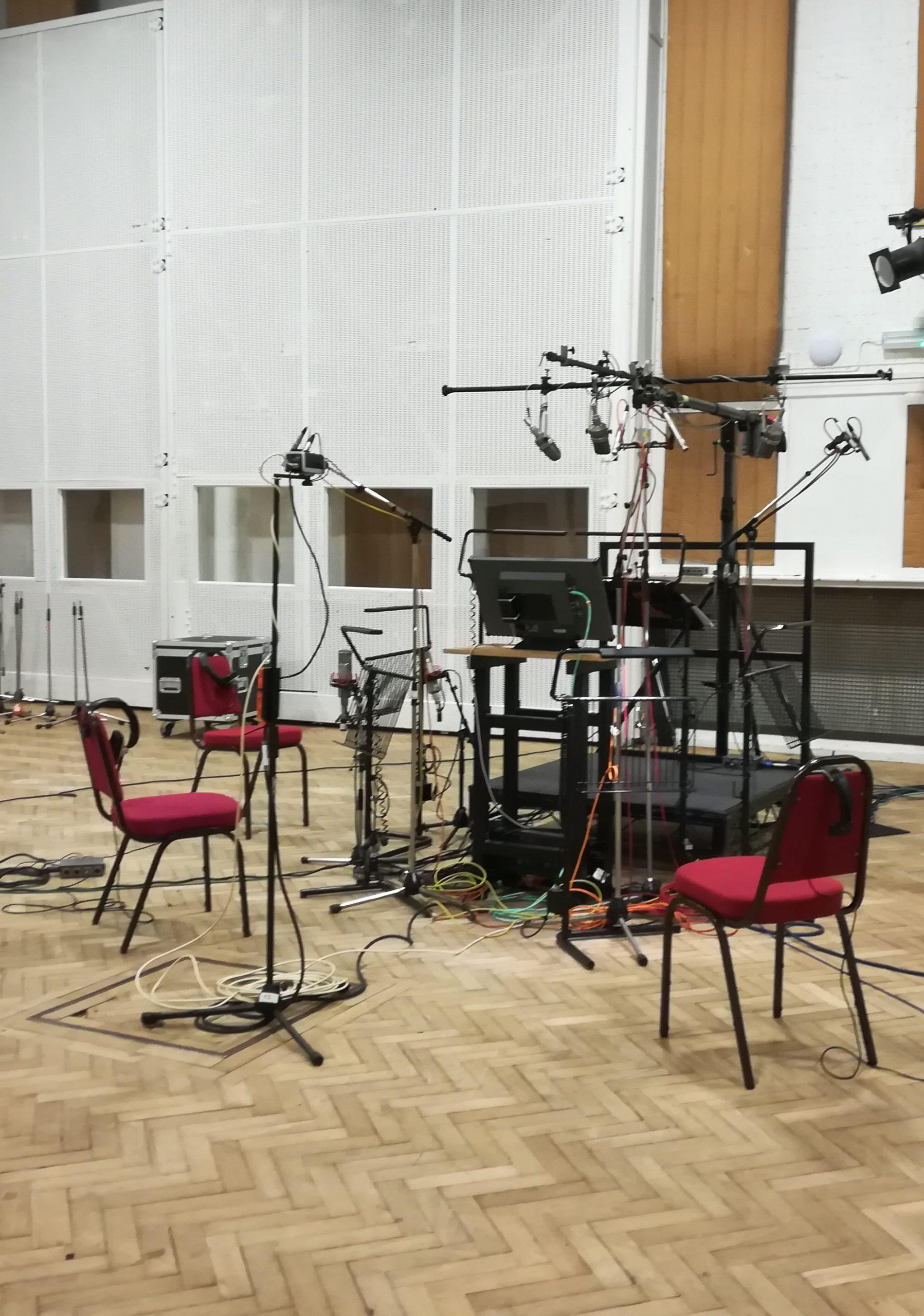 Lekcja pracy w studio. Sesja nagraniowa w Abbey Road